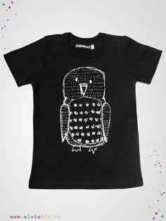 T-shirt original à l'imprimé Hibou que vous pourrez assortir au short de la même marque ou aux leggings.