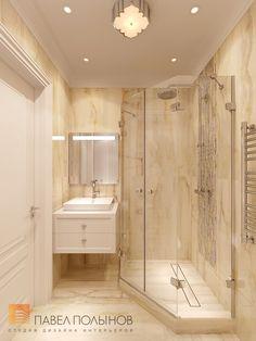 Фото: Санузел - Квартира в стиле американской неоклассики, ЖК «Академ-Парк», 107 кв.м.