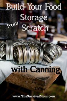 food storage canning