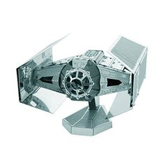 Spacecraft Model Kits - Fascinations Metal Earth Star Wars OT Darth Vaders Tie Fighter * Find out more about the great product at the image link.