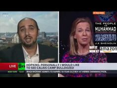 """""""Is it because I'm white?"""" Woman absolutely OWNS Muslim on EU migration issue - YouTube"""