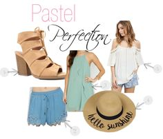A Little Pastel Never Hurt Anyone | STB Blog - Single Thread Boutique #transition #flowy #tank #tops #dresses #spring #bright #colors #dainty #patterns #new #arrivals #pretty #pastels #toffee #lace #up #heel #bootie #open #toe #chunky #heel #white #denim #chambray #crochet #lace #trimmed #shorts #cute #floral #grey #v #neck #dusty #mint #layered #tulip #dress #hello #sunshine #floppy #hat #accessory #beach #natural #cold #shoulder #crochet #top #fun #stbblog #singlethreadbtq #shopstb…