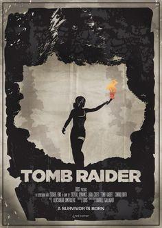 Affiche cinéma Tomb Raider