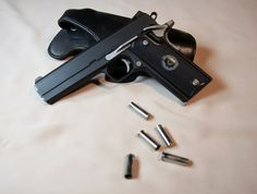 Coonan .357 magnum 1911 automatic. Hell, I've been looking for one of these for a while I love it. Fucking bear stopper right here.