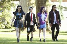 Dan Payne, Booboo Stewart, Cameron Boyce, Dove Cameron, and Sofia Carson in Descendants (2015)