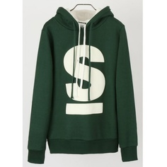 Men Fashion Long Sleeve Letter Printing Design Double Hoods Ropes... ($27) via Polyvore
