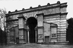 Italian Pavilion at the Colonial Exposition in Paris, Vincennes, Armando Brasini, 1931