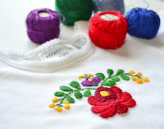 3 Free Hungarian Embroidery Designs - Untrendy Life