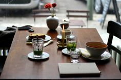a coffee moment at Café Dolly in Berlin   Best wishes from #Berlin (read the story on Best Wishes Magazine)