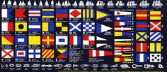 nautical flags and knots