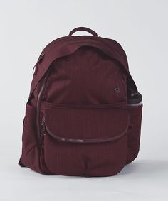 Lululemon All Day Backpack in bordeaux drama Gym Backpack, Backpack Outfit,  Gym Bag, f83c08a760
