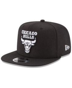 4f682bfec74 New Era Chicago Bulls Anniversary Patch 9FIFTY Snapback Cap