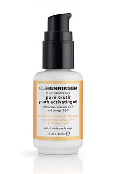 The Best Fall Beauty Buys For Now & Later - OLEHENRIKSEN Pure Truth Youth Activating Oil