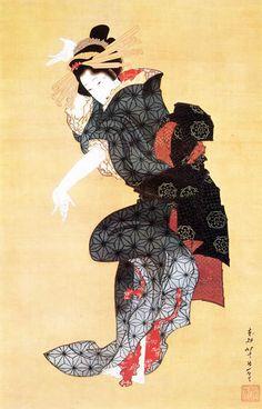 Teodori Figure. 1818-29, Japan, by Katsushika Hokusai Japanese Aesthetics
