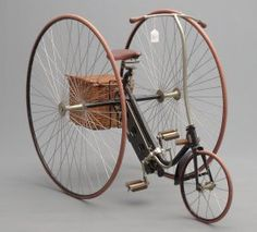 See 916 prices and auction results for April Antique & Classic Bicycle Auction on Sat, Apr 2015 by Copake Auction Inc. Adult Tricycle, Antique Bicycles, Vintage Cycles, Safety Helmet, Comfort Design, Cargo Bike, Kids Bike, Bike Parts, Cool Bikes