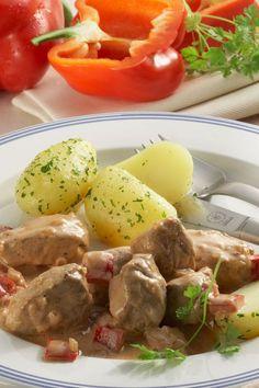 Rezept Schweinegulasch à la Minute