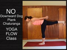 Full 1 Hour Wrist Free Hands Free Yoga Flow Class -  Strength Flexibilit...  - Very calming and hard work for legs!