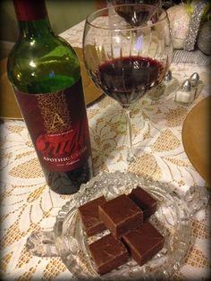 New wine -- Apothic Crush.  Weekending - Valentine's Weekend