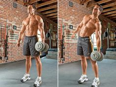 Lose Your Love Handles With the Dumbbell Side Bend