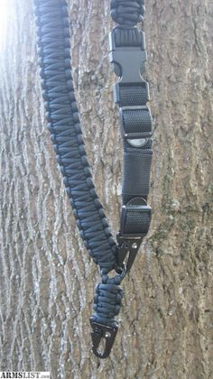 ARMSLIST - For Sale: Black one and two point paracord AR-15 sling.