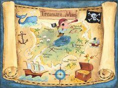 print of treasure map | Map Critique 2