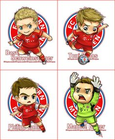 Bayern Munich!! :) Omg I love this its soooo cute!