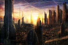 Industrial City by *d3fect on deviantART