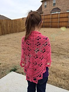 Crochet Butterfly Shawl.  http://www.ravelry.com/patterns/library/butterfly-stitch-prayer-shawl
