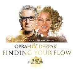 Are you ready to transform your life and find peace, purpose, and power? Oprah and Deepak Chopra bring you their all-new 21-Day Meditation Experience that will help you unleash the energy and flow within you.