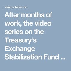 After months of work, the video series on the Treasury's Exchange Stabilization Fund is finally finished! Why you should watch these five videos: It is impossible to understand the world today without knowing what the ESF is and what it has been doing. Officially in charge of defending the dollar, the ESF is the government agency which controls the New York Fed, runs the CIA's black budget, and is the architect of the world's monetary system (IMF, World Bank, etc). ESF financing (through the…