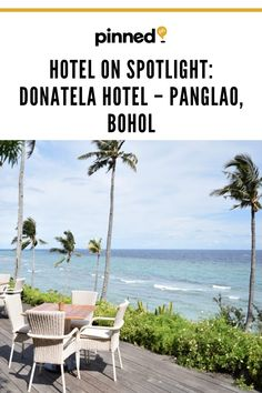 If you live for utmost luxury and adventure, then there's one resort in Bohol you shouldn't dare miss: Donatela Hotel. Fresh Sushi, Buddha Garden, Mini Tour, Reclining Buddha, Lotus Pond, Bohol, Spa Offers, Spa Services, Crystal Clear Water