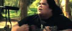 "Here's a wonderful music video made by Israel IZ Kamakawiwo'ole. It features the song ""Somewhere Over the Rainbow."" This video has already gone viral with over 222 million views."