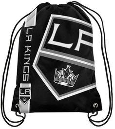 Forever Collectibles Los Angeles Kings Big Logo Drawstring Bag