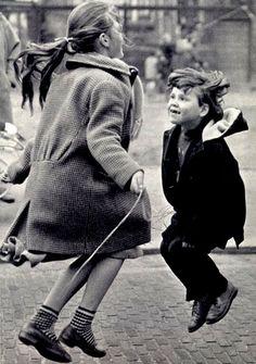 .Everyone had a jump rope