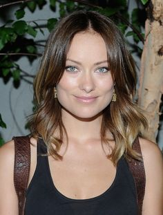 olivia wilde hair ombre