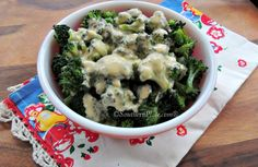 Broccoli with Homemade Cheese Sauce - you won't believe how easy this is to make! This cheese sauce is great on pretty much everything! SouthernPlate