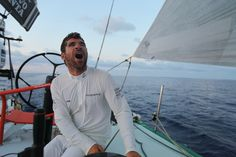 Erwan Israël / Leg 6 - Day 17 / Groupama in the Volvo Ocean Race / Credit : Yann Riou
