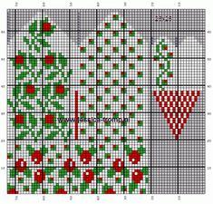 Knitted Mittens Pattern, Fair Isle Knitting Patterns, Knit Mittens, Knitting Charts, Knitting Stitches, Knitting Socks, Hand Knitting, Hippie Crochet, Knit Crochet