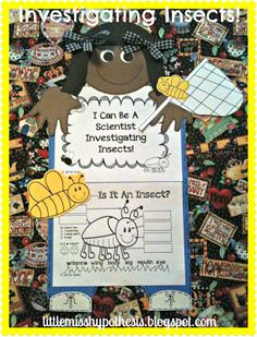 Little Miss Hypothesis - Lessons from the Science Lab. I Can Be A Scientist Investigating Insects! Nothing but hands-on fun for those budding Scientists!$