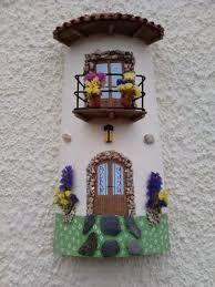 Resultado de imagen para arte en tejas decoradas