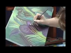 How to Paint Leaves: Acrylic Painting Techniques: Creating Texture with Glazes