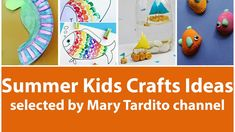 Summer Kids Crafts Ideas https://youtu.be/U7bg7DDEFb8 . how to make your own #crafts follow @cutephonecases