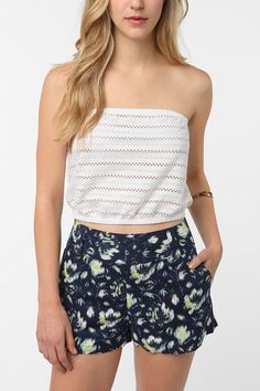 UrbanOutfitters.com > Cooperative Eyelet Strapless Top