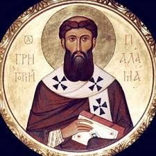 """Saint Gregory Palamas, one of the great Saints of Orthodoxy, who proclaimed that the grace of God is not a created Gift - it is God Himself, communicating Himself to us so that we are pervaded by His presence, that we gradually… open ourselves to Him, become transparent …to His light, that we become incipiently and ever increasingly partakers of the Divine nature."" (Metropolitan  Anthony  of  Sourozh)"
