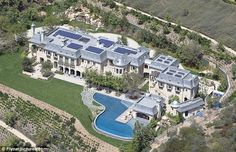 Family home: Tom and Gisele's $20million dream mansion was finally completed in January this year