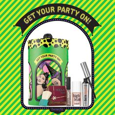 Ready for a whirlwind night? Spin the top of this sexy set and then paint the town glam #noboringgifts