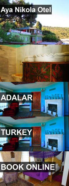 Hotel Aya Nikola Otel in Adalar, Turkey. For more information, photos, reviews and best prices please follow the link. #Turkey #Adalar #hotel #travel #vacation
