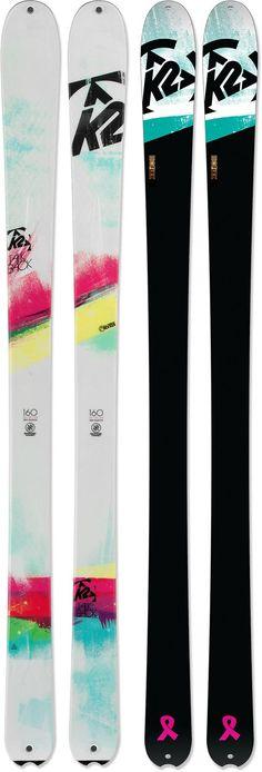 Feel the telemark burn! K2 TalkBack Telemark / Randonee Skis - Women's.
