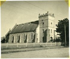 St James' Church of England Morpeth, NSW in 1938 | by UON Library,University of Newcastle, Australia