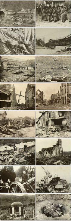 WW1 Photographs from the war photographer Hermann Rex, in a German photo book (…